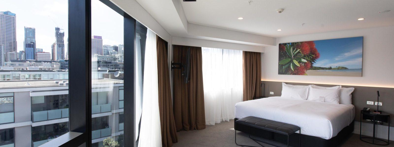 Wynyard 100 Travelodge Hotel Room