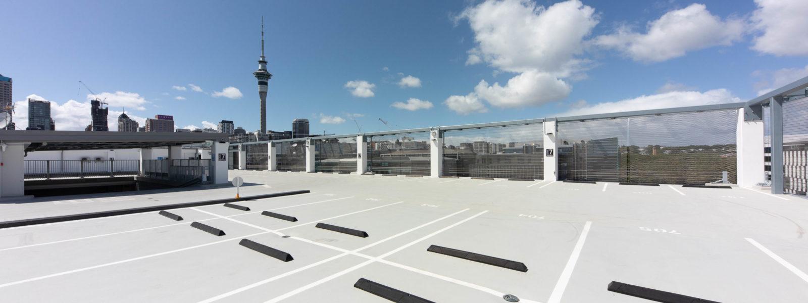 Wynyard 100 Car Park Roof